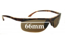 Sunglass Fix Sunglass Replacement Lenses for Ray Ban RB4085 - 66mm Wide