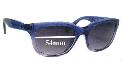 Sunglass Fix Sunglass Replacement Lenses for Ray Ban RB4159 - 54mm Wide