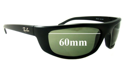 Sunglass Fix Sunglass Replacement Lenses for Ray Ban RB4053 Predator - 60mm Wide