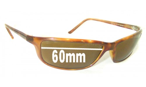 Sunglass Fix Sunglass Replacement Lenses for Ray Ban RB4034 - 60mm across
