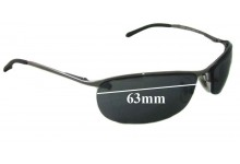Sunglass Fix Sunglass Replacement Lenses for Ray Ban RB3186 - 63mm Wide