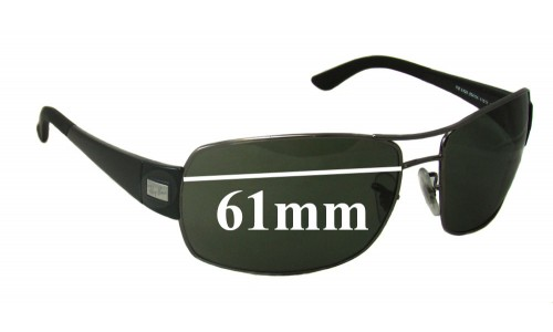 Sunglass Fix Sunglass Replacement Lenses for Ray Ban RB3426 - 61mm Wide