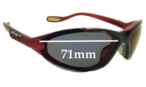 Sunglass Fix Sunglass Replacement Lenses for SH Plus RG 4010  - 71mm Wide