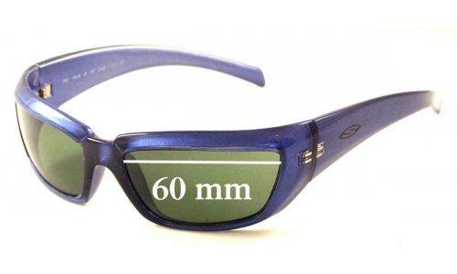 Sunglass Fix Sunglass Replacement Lenses for Smith Chopper - 60mm Wide