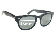 Sunglass Fix Sunglass Replacement Lenses for Shuron Sidewinder - 48mm Wide