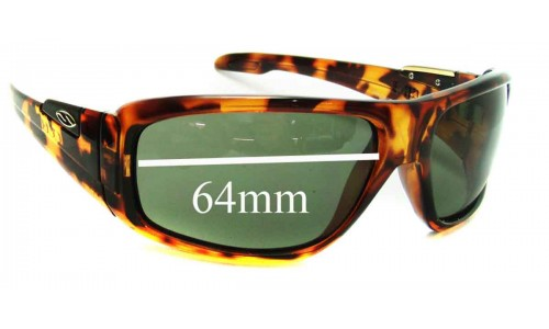 Sunglass Fix Sunglass Replacement Lenses for Smith Embargo - 64mm Wide