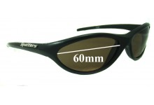 Sunglass Fix Sunglass Replacement Lenses for Spotters Slider  - 60mm Wide