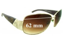 Sunglass Fix Sunglass Replacement Lenses for Tommy Bahama - Royal Gold - 62 mm Wide