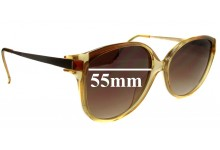 Sunglass Fix Sunglass Replacement Lenses for Vienna Line - 55mm Wide