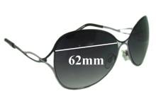 Sunglass Fix Sunglass Replacement Lenses for Viventy Bernd Berger 402 62mm Wide