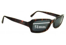Sunglass Fix Sunglass Replacement Lenses for Vogue VO2208-S - 51mm Wide
