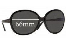 Sunglass Fix Sunglass Replacement Lenses for Vogue VO2512-S - 66mm Wide