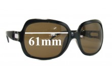 Sunglass Fix Sunglass Replacement Lenses for Aldo Unknown - 61mm Wide