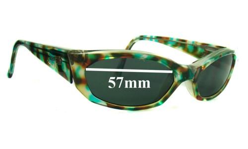 Sunglass Fix Sunglass Replacement Lenses for Arnette Mantis - 57mm wide 32mm high