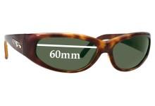 Sunglass Fix Sunglass Replacement Lenses for Arnette Catfish AN4051 New - 60mm Wide x 35mm Tall