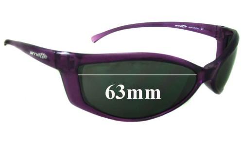 Sunglass Fix Sunglass Replacement Lenses for Arnette Swinger AN250 - 63mm Wide