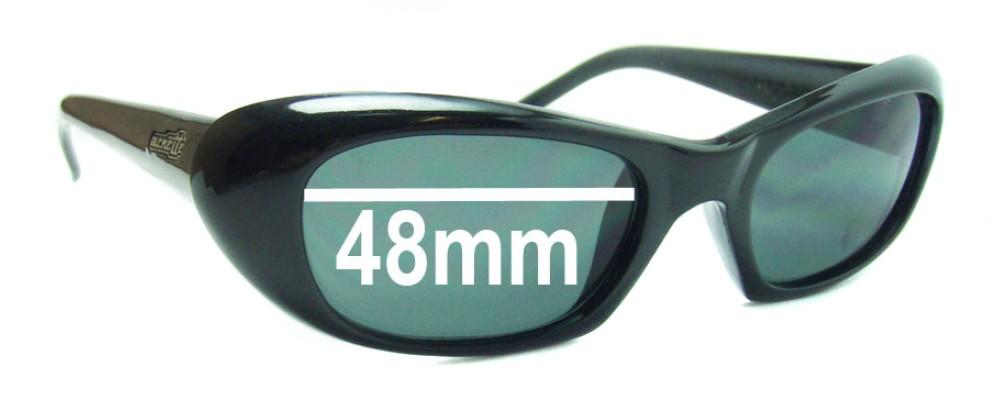 Sunglass Fix Replacement Lenses for Arnette Serum AN270 - 48mm Wide