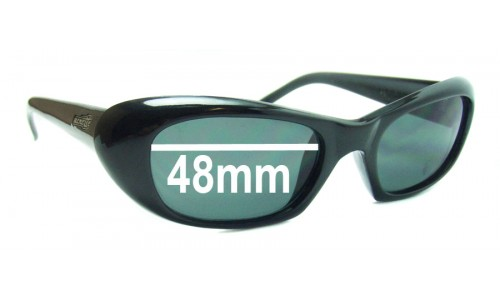 Sunglass Fix Sunglass Replacement Lenses for Arnette AN270 Serum - 48mm wide