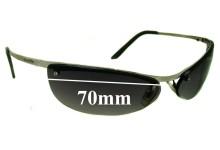 Sunglass Fix Sunglass Replacement Lenses for Arnette Grasshopper AN3011 - 70mm Wide