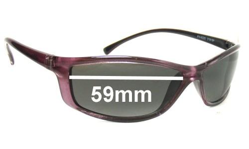 Sunglass Fix Sunglass Replacement Lenses for Arnette AN4035 - 59mm wide