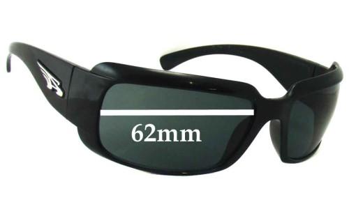 Sunglass Fix Sunglass Replacement Lenses for Arnette AN4076 Infamous - 62mm wide