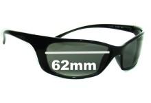 Sunglass Fix Sunglass Replacement Lenses for Arnette Psycho AN4096 - 62mm Wide