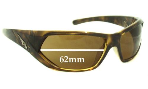 Sunglass Fix Sunglass Replacement Lenses for Arnette Slander AN4108 - 62mm wide