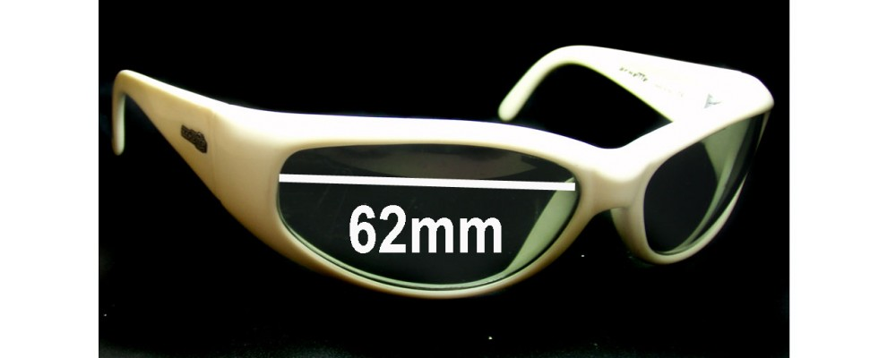 Sunglass Fix Sunglass Replacement Lenses for Arnette Catfish AN222 - 62mm Wide x 35mm Tall