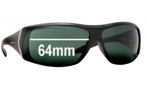 Sunglass Fix Sunglass Replacement Lenses for Arnette AN4092 Cypher - 64mm wide