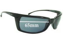 Sunglass Fix Sunglass Replacement Lenses for Arnette Ollie AN4036 - 65mm Wide