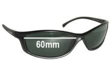 Sunglass Fix Sunglass Replacement Lenses for Arnette RAJ1823AA - 60mm