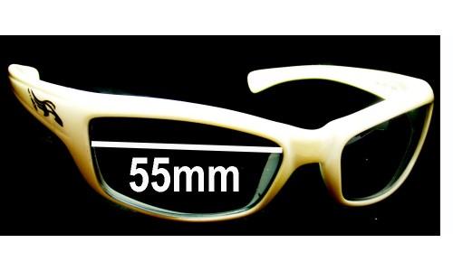 Sunglass Fix Sunglass Replacement Lenses for Arnette Tantrum AN4037 - 55mm wide