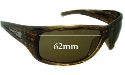Sunglass Fix Sunglass Replacement Lenses for Arnette Wolfman 4137 - 62mm Wide