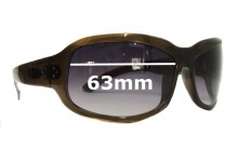 Sunglass Fix Sunglass Replacement Lenses for Blinde Perfectly Panicked - 63mm Wide