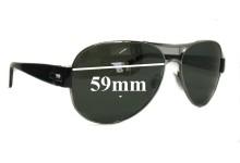 Sunglass Fix Sunglass Replacement Lenses for Bvlgari 5015 - 59mm Wide