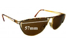 Sunglass Fix Sunglass Replacement Lenses for BY 18 - 57mm Wide