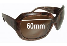 Sunglass Fix Sunglass Replacement Lenses for Chanel 5146 - 60mm Wide