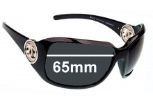 Sunglass Fix Sunglass Replacement Lenses for Chanel 6023 - 65mm Wide x 47mm Tall
