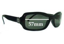 Sunglass Fix Sunglass Replacement Lenses for Chanel 6024 - 57mm Wide