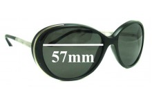 Sunglass Fix Sunglass Replacement Lenses for Chanel 6037 - 57mm Wide