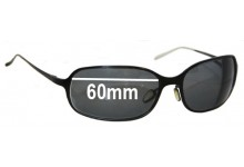 Sunglass Fix Sunglass Replacement Lenses for Christian Roth CR14241 - 60mm Wide