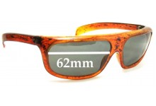 Sunglass Fix Sunglass Replacement Lenses for Cool Ray Confidential - 62mm Wide