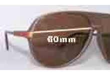 Sunglass Fix Sunglass Replacement Lenses for Dazed N Confused King - 60mm Wide