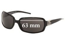 Sunglass Fix Sunglass Replacement Lenses for Dolce & Gabbana DG810S - 63mm Wide