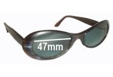 Sunglass Fix Sunglass Replacement Lenses for Dita Velvet - 47mm Wide