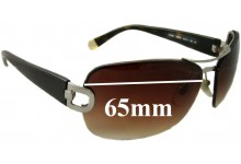 Sunglass Fix Sunglass Replacement Lenses for DKNY DY5063 - 65mm Wide