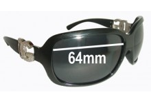 Sunglass Fix Sunglass Replacement Lenses for Dolce & Gabbana DG6029 - 64mm Wide