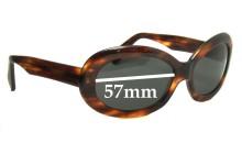 Sunglass Fix Sunglass Replacement Lenses for Dolce & Gabbana DG5145 - 57mm Wide