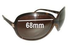 Sunglass Fix Sunglass Replacement Lenses for Dolce & Gabbana DG6009B - 68mm Wide