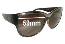 Sunglass Fix Sunglass Replacement Lenses for Dolce & Gabbana DG6054 - 59mm Wide